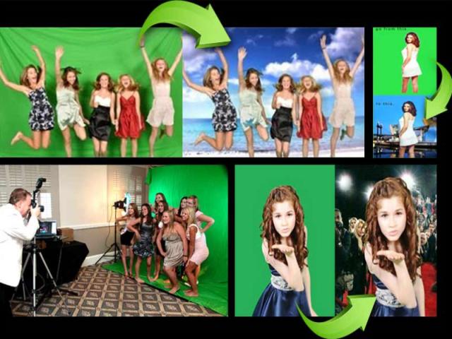 Green Screen Photo