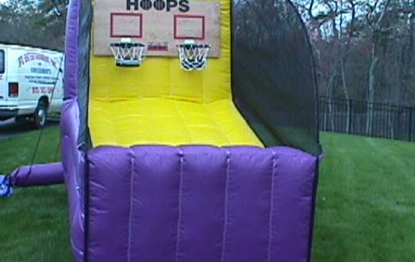 Double Hoop Shot Basketball   Inflatable