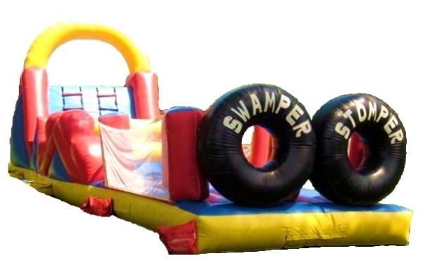 Swamper Stomper Obstacle Course