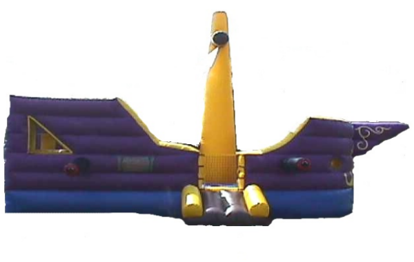 Pirate Ship and Slide