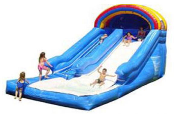 Large Backyard Water Slide