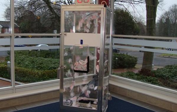 Money Booth  Plexi Glass
