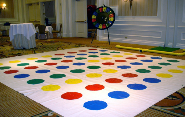 Twister Laydown and Spinner