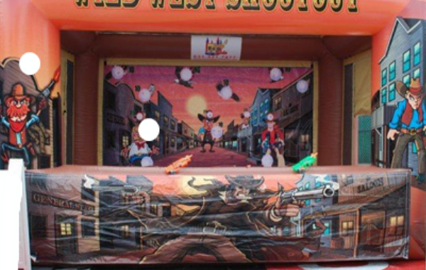 Wild West Inflatable Shoot Out