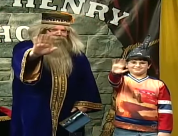 Tribute to Dumbeldore the Magician