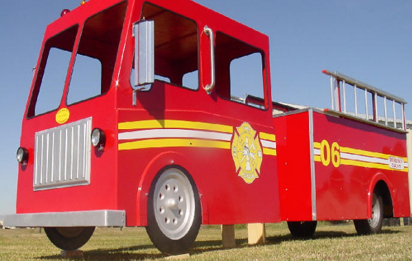 Fire Engine truck ride
