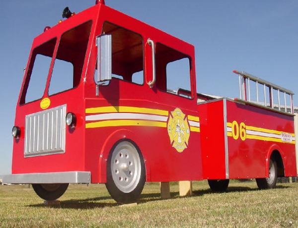 Fire Engine truck ride