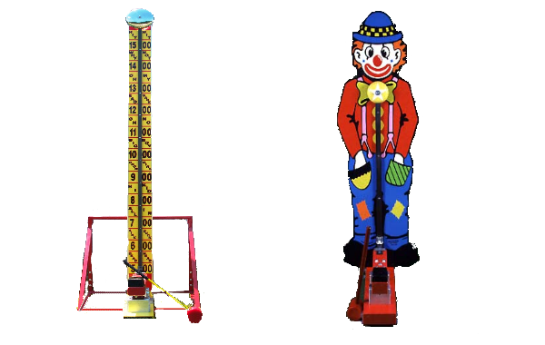 High Striker & Kiddie Striker