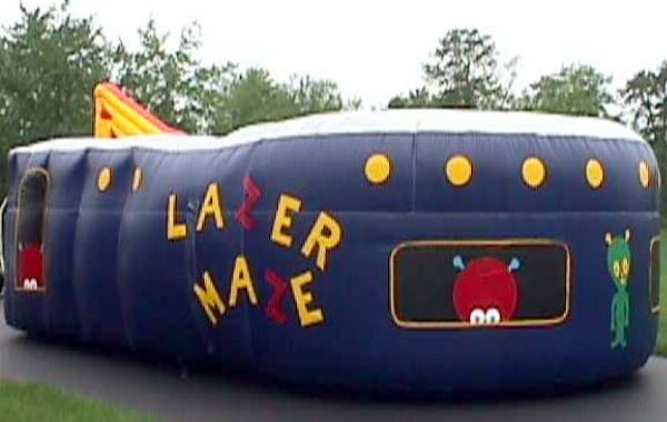 Lazer Tag Maze