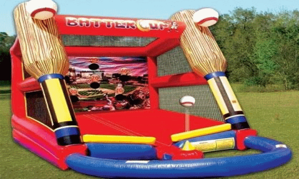 Inflatable  Batter up Game