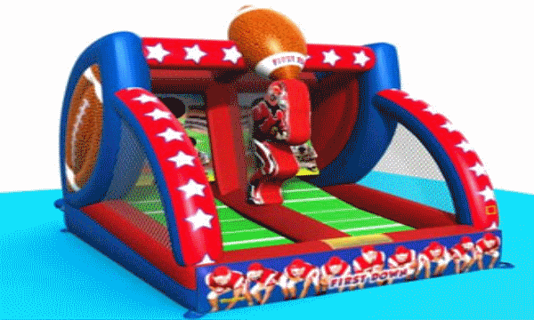 The First Down Inflatable Football  Game