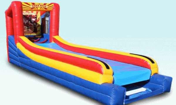 Inflatable Skee Ball Machine