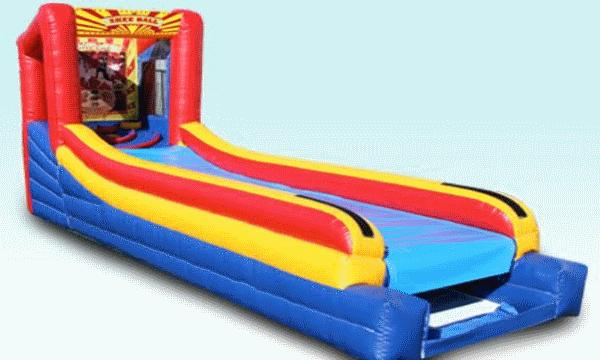 Inflatable Skee Ball Machine