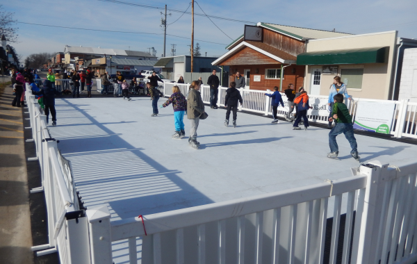 Portable & Synthetic Ice Rink