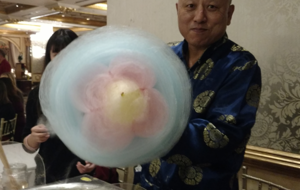 Chinese Cotton Candy Art