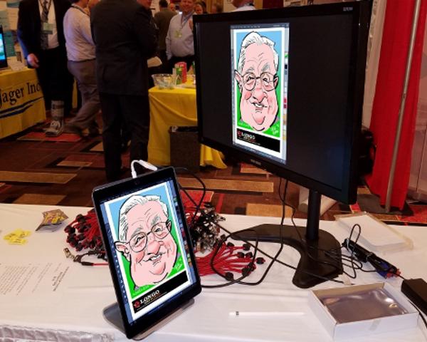 Ipad Caricatures by Steve N