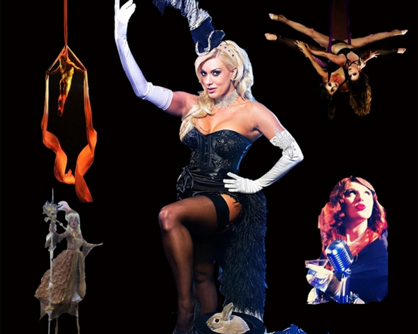 Burlesque Magic Entertainment with Suzie M